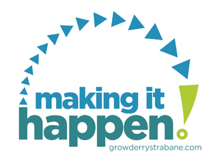 making it happen grow derry strabane logo